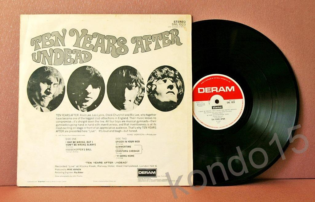 TEN YEARS AFTER UNDEAD 1-st press Оригинал UK
