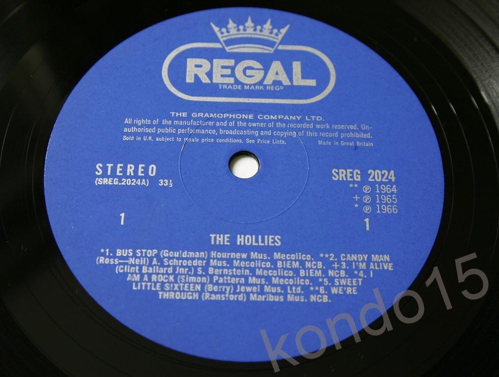 THE HOLLIES Оригинал UK     STEREO    MINT-