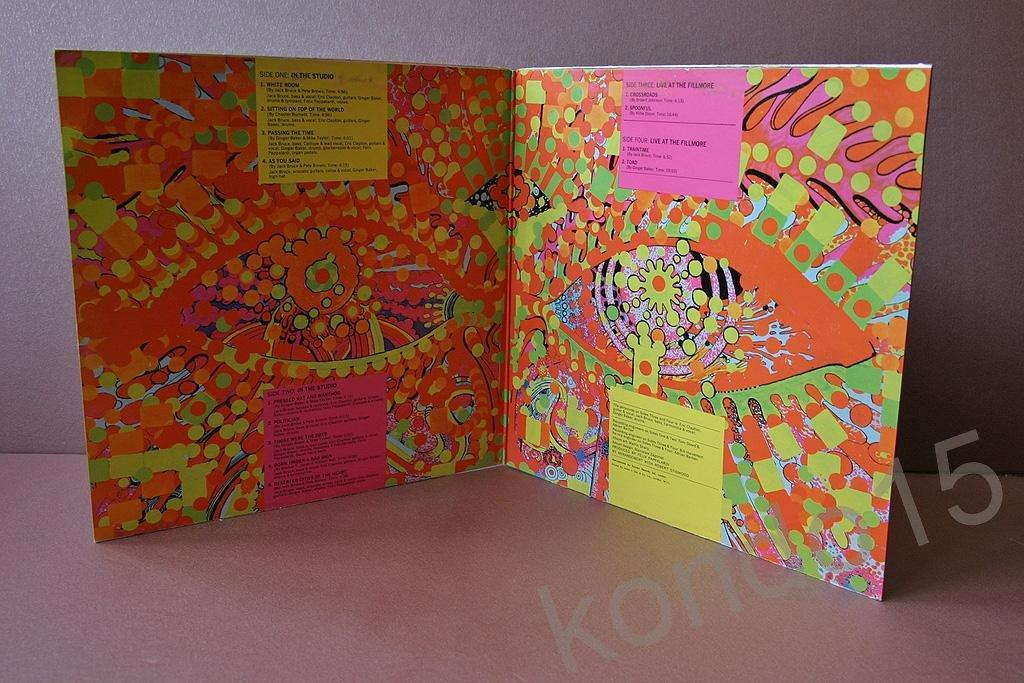 CREAM WHEELS OF FIRE 2 LP  Ориг.UK   NMINT