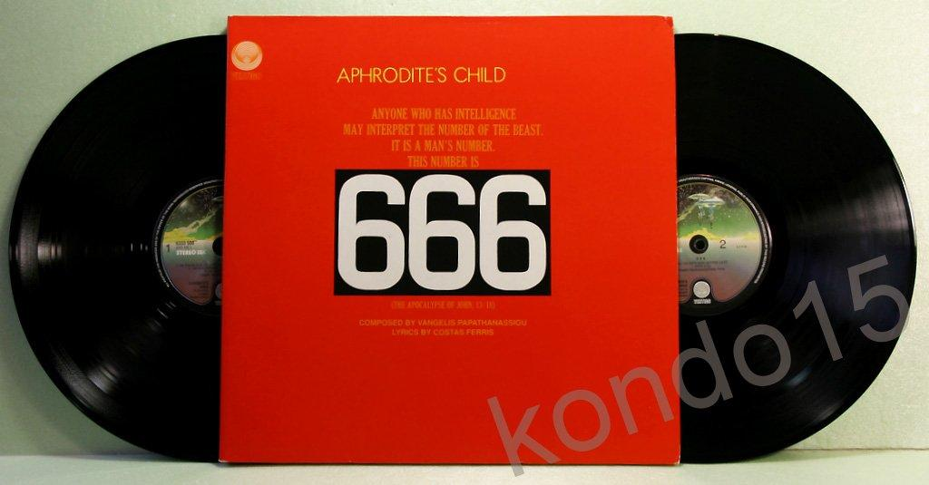 APHRODITES CHILD 666  2LP ------    MINT/MINT