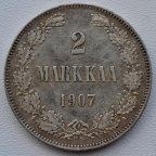 2 марки 1907 Русская Финляндия