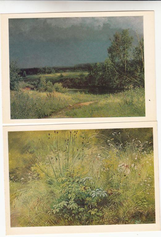 Набор открыток шишкин 24