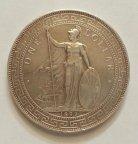 Акция. Дёшево.  1 Торговый доллар 1899 г. Англия. Достойный сохран. (См. друг. мои лоты)