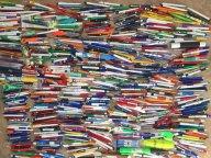 шариковые ручки - коллекция 712 штук