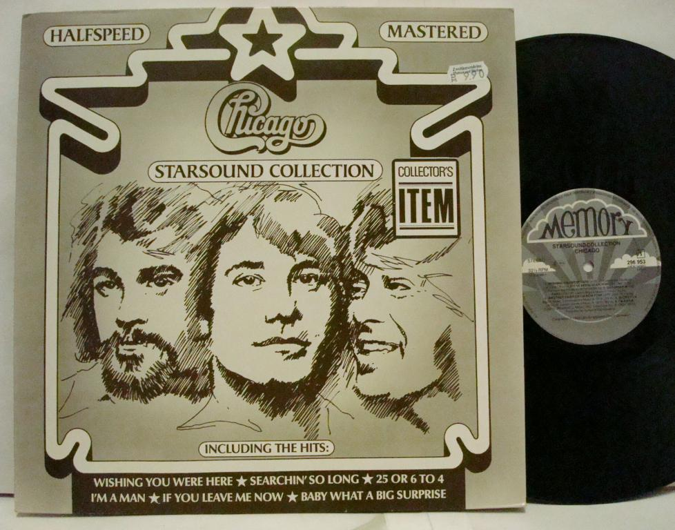 CHICAGO - starsound collection 1983 Germany LP