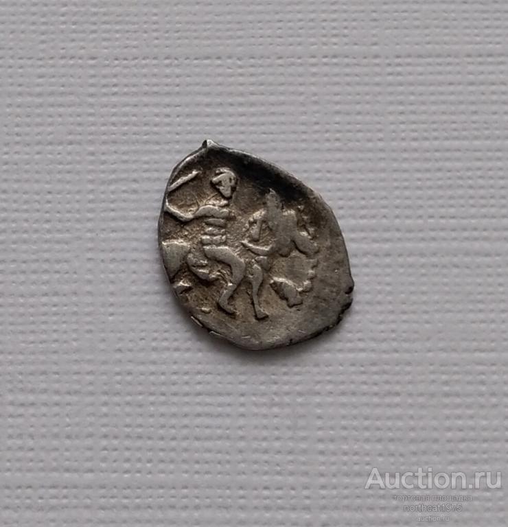 Иван IV Васильевич ( Грозный ) 1533-1584. Денга. /N46