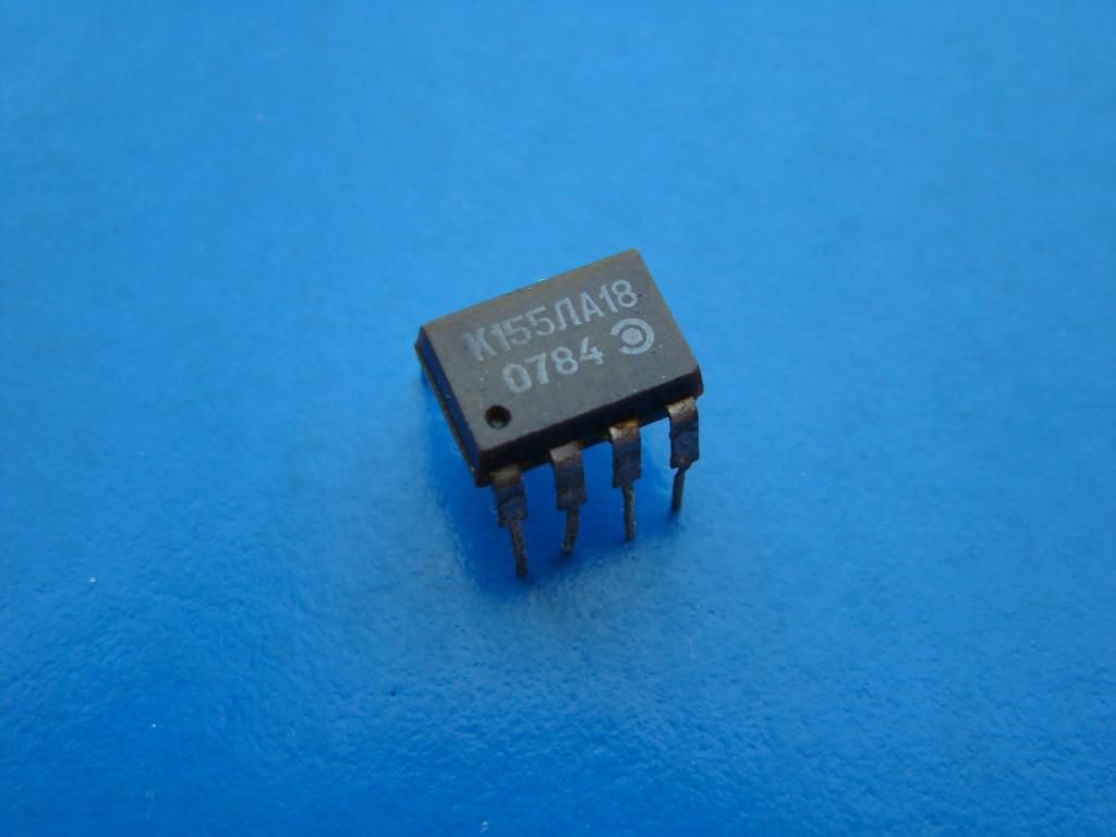 Микросхема К155ЛА18. Рабочая Б/У.  #Z823