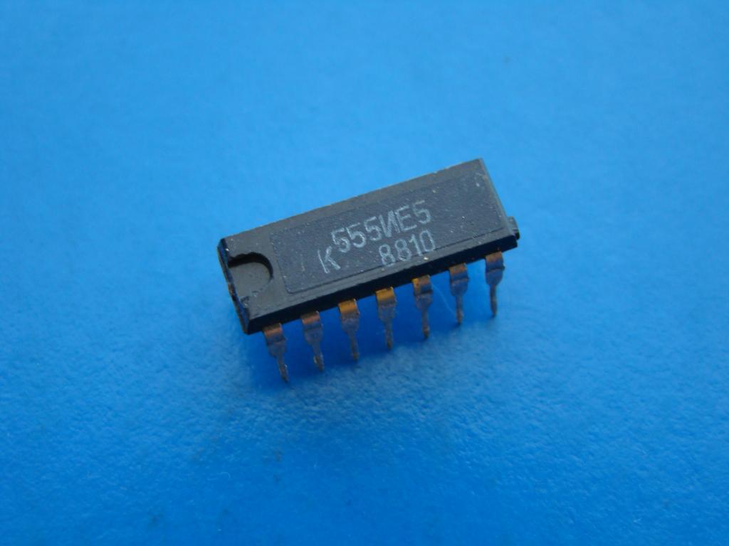 Микросхема К555ИЕ5. Рабочая Б/У.  #Z827
