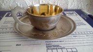 Серебро 875 проба Чайная пара Голова