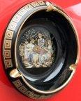 Пепельница. Греция. Фарфор. Роспись 24 - каратным золотом.