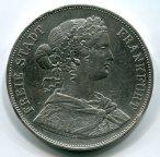 ФРАНКФУРТ, 2 ТАЛЕРА, 1860 год. Серебро!