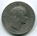 ПРУССИЯ! 2 талера 1841 год. Фридрих Вильгельм IV. Серебро!