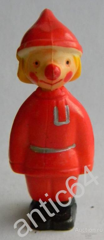 Игрушка колкий пластик СССР Петрушка d19117d0d91