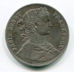 Франкфурт 1 талер 1860 год. Серебро!