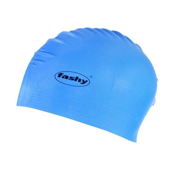 Шапочка для плавания FASHY Latex арт.3030-50 латекс, синий