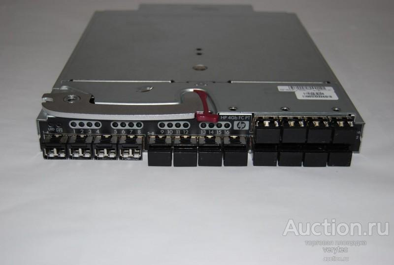 Трансивер HP BladeSystem 16 port 4GB FC Pass-thru Module for c-Class BladeSystem (incl 16 SW SFPs w