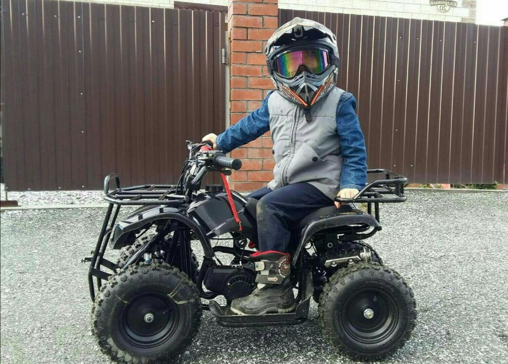 Квадроцикл Х 16 с электростартером