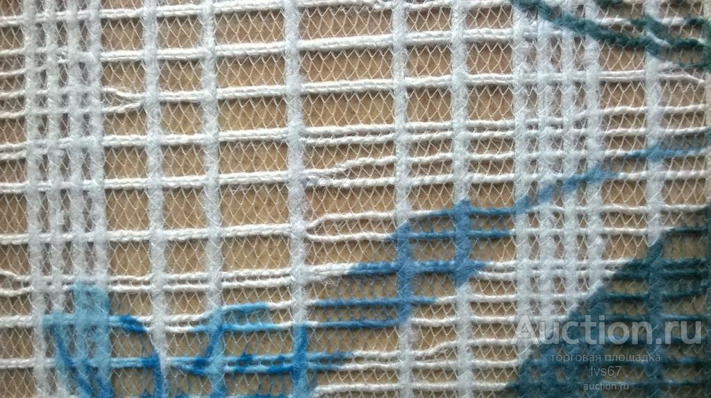 Тюль  отрез  1,2 х 5,5 метра,  винтаж СССР