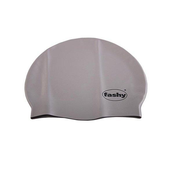 Шапочка для плавания FASHY Silicone арт.3040-12 силикон, серый