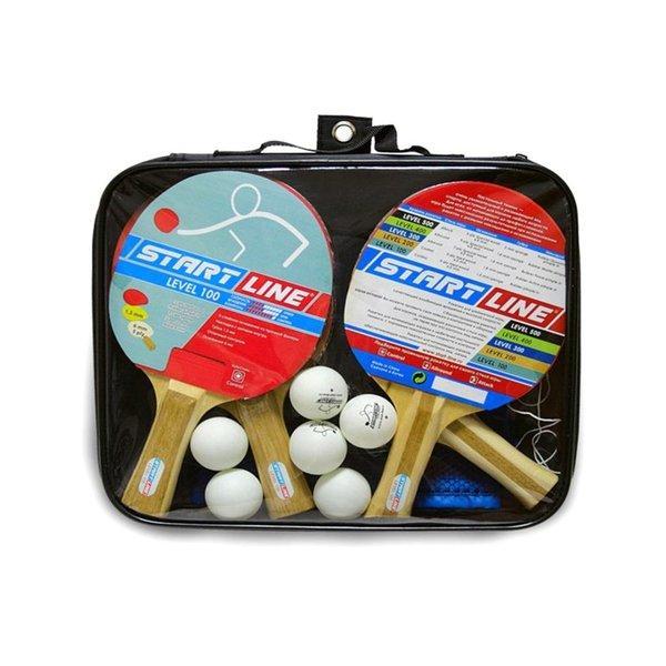Набор для н/т Startline  Level 100 (4 ракетки, 6 мячей + сумка)