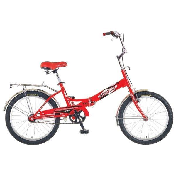 Велосипед складной Novatrack FS-30 20 (2017) красный