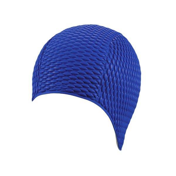Шапочка для плавания FASHY Babble Cap арт.3115-54 резина, темно-синий