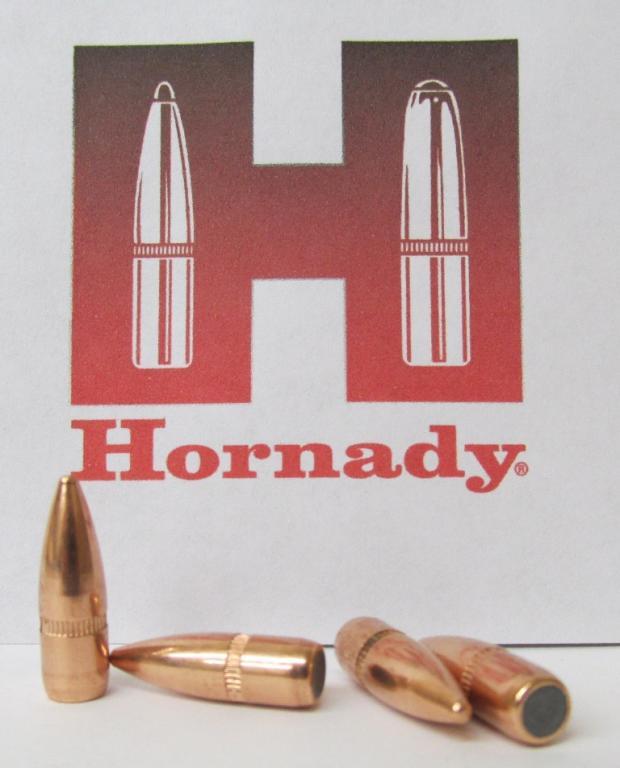 Пуля Hornady .22 cal, .224 55 gr/3,6 грамм, FMJBT, ВС = 0,243, 100 штук