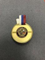 Медаль Хоккей 65 лет Федерации хоккея России