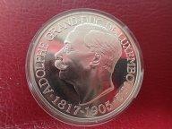 Люксембург 25 экю 1997 ПРУФ . Адольф Великий герцог Люксембургский  .ОРИГИНАЛ !!СЕРЕБРО . / О 107