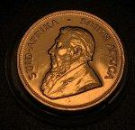 "Золотая монета ""Крюгерранд"" 1979г, ЮАР, 33,93гр., Au917, С РУБЛЯ!"