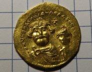 Византийская империя. Солид Ираклия. 610-641 гг