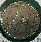 Монета ЮАР 2,5 шиллинга 1895г.. Серебро.