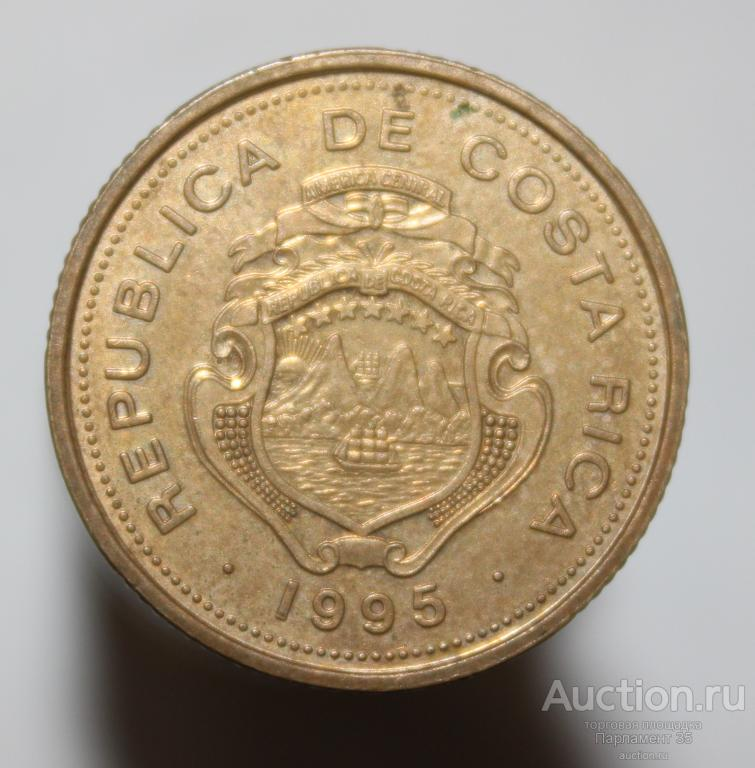 Коста-Рика 10 колонов, 1995г