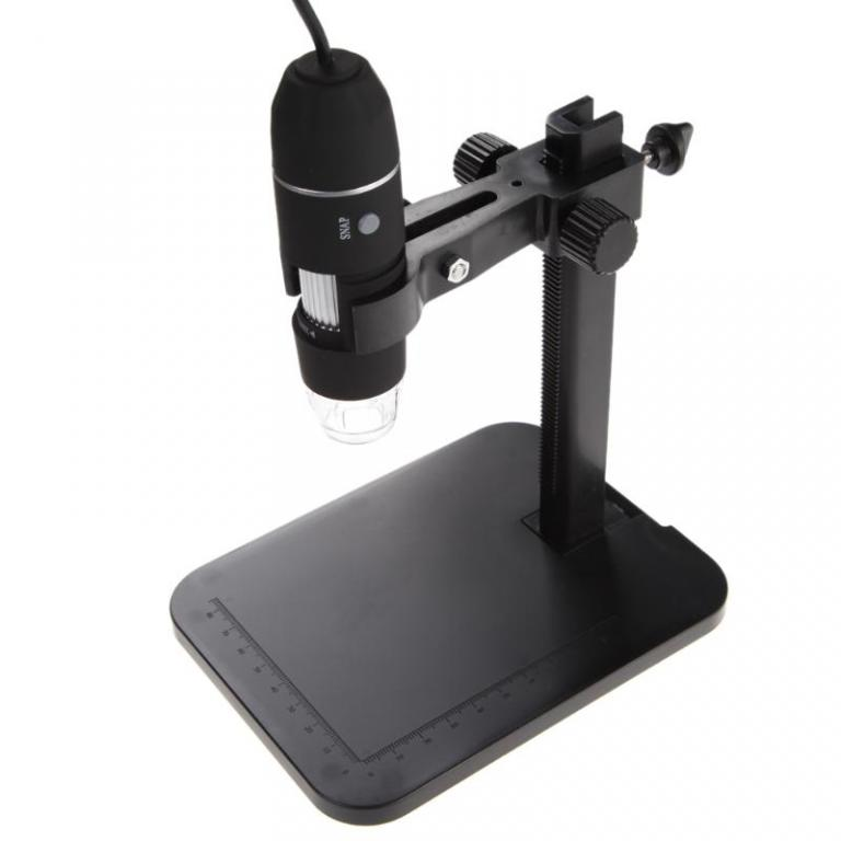 Цифровой USB Микроскоп 1000X / 2МП со штативом.