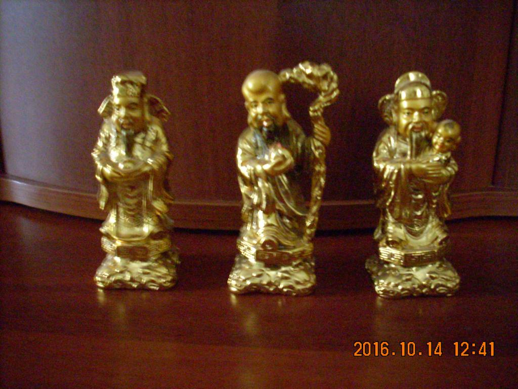Статуэтки 3 китайских старца.