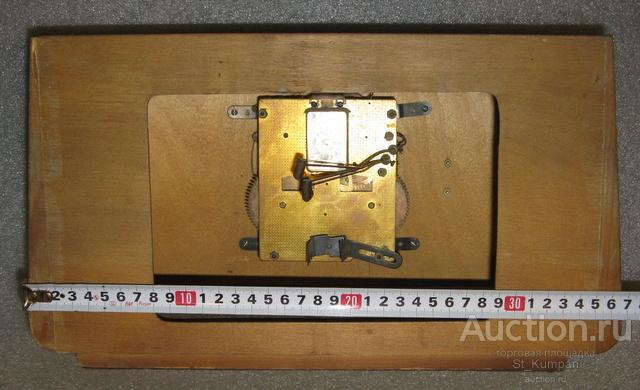 Янтарь с боем настольные СССР в ремонт часы механика