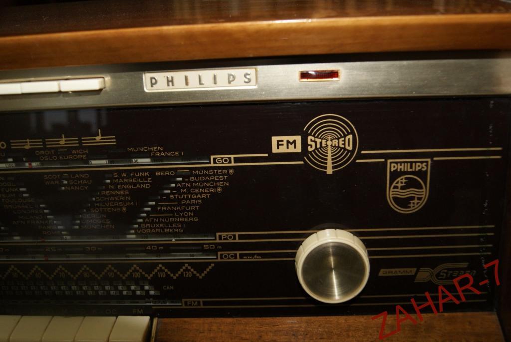 Радиоприемник Philips длина 55.5 см высота 24.5см глубина 24.2см
