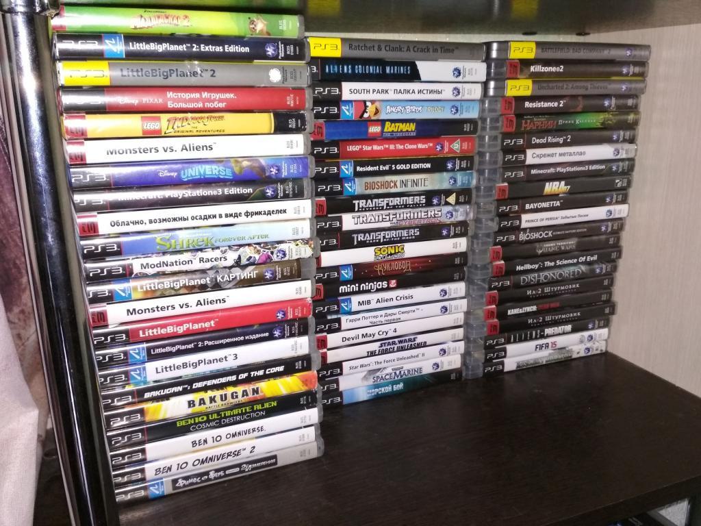 Игры для PS3 Диски лицензионные почтой