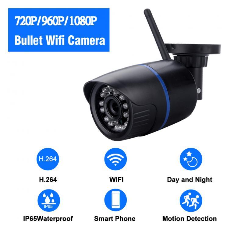 Wi-Fi IP Камера 1080P HD / P2P / IR / 2.0MP с Адаптером Питания 12в.