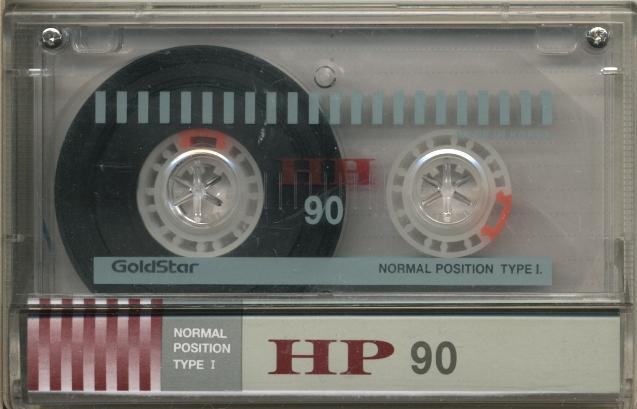 Компакт-кассета GOLDSTAR HP 90