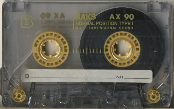 Компакт-кассета RAKS AX 90