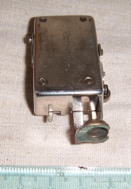 Автоспуск Autoknips D.R.G.M Сделано в Германии Прибор увеличения диапазона выдержек 1/2 до 9сек Rare