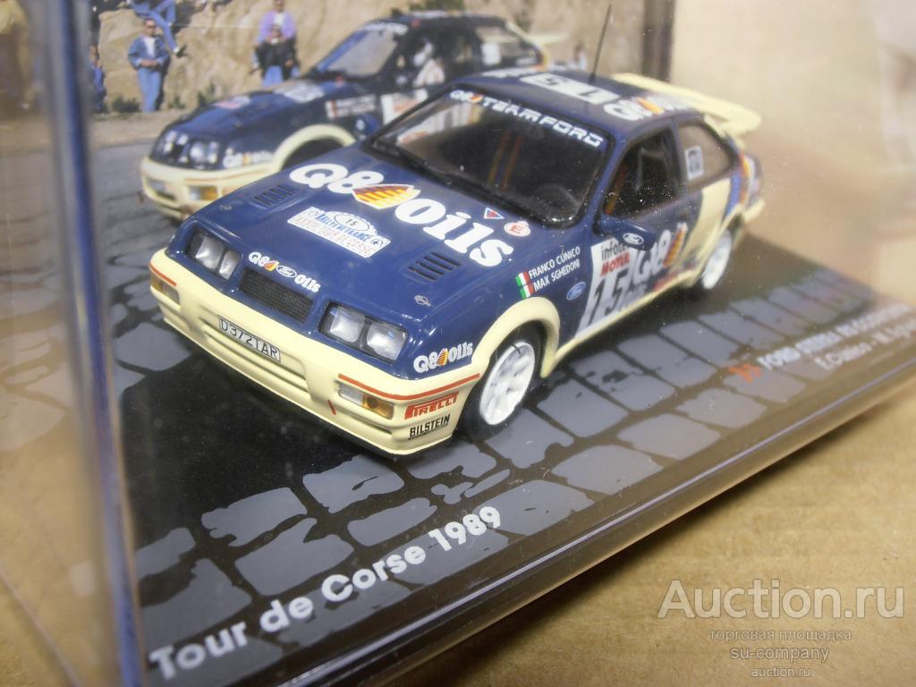 FORD SIERRA RS COSWORTH Cunico//Sghedoni Tour de Corse 1989 ATR082 ALTAYA  1:43