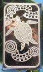 1 доллар 2008 год. Черепаха. Австралия. Серебро!