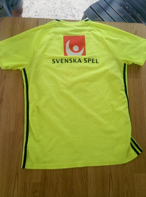 Официальная тренировочная форма (футболка) сборной Швеции