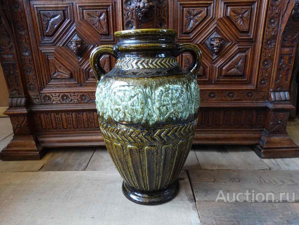 Винтажная немецкая ваза для цветов