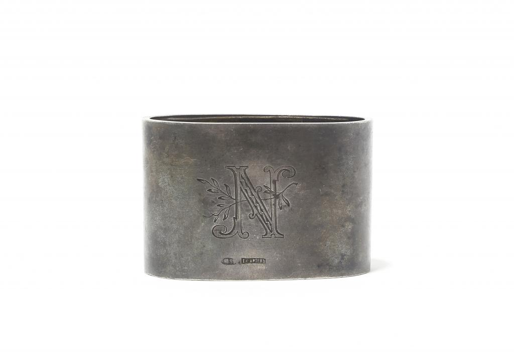 Серебряное кольцо для салфеток. г.Киев, 1908-1917 гг.