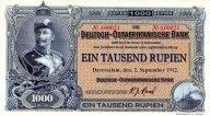 Немецкая Восточная Африка 1000 рупий 2015,фэнтези.Оригинал.