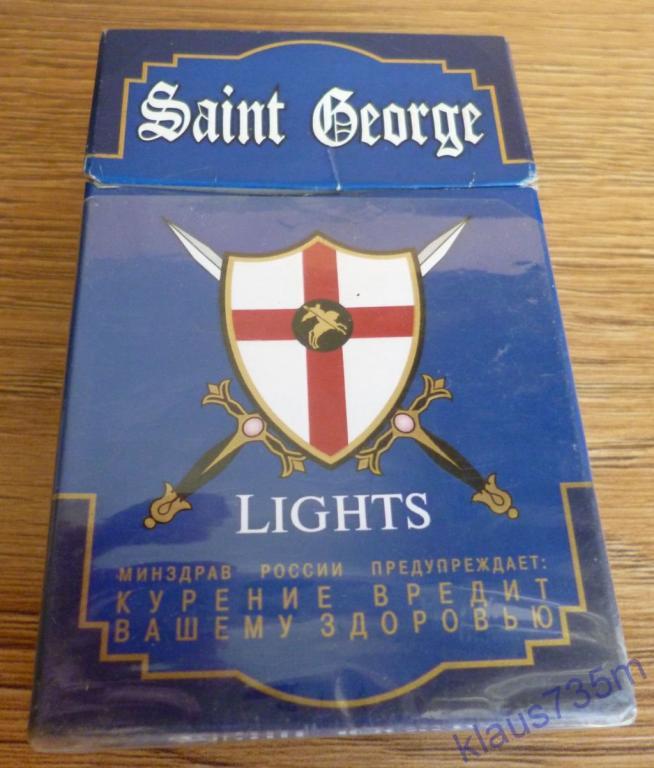 сигареты святой георгий синий купить