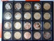 ФУТБОЛ,20 серебряных монет к чемпионату мира по футболу в ЮАР 2010 года!